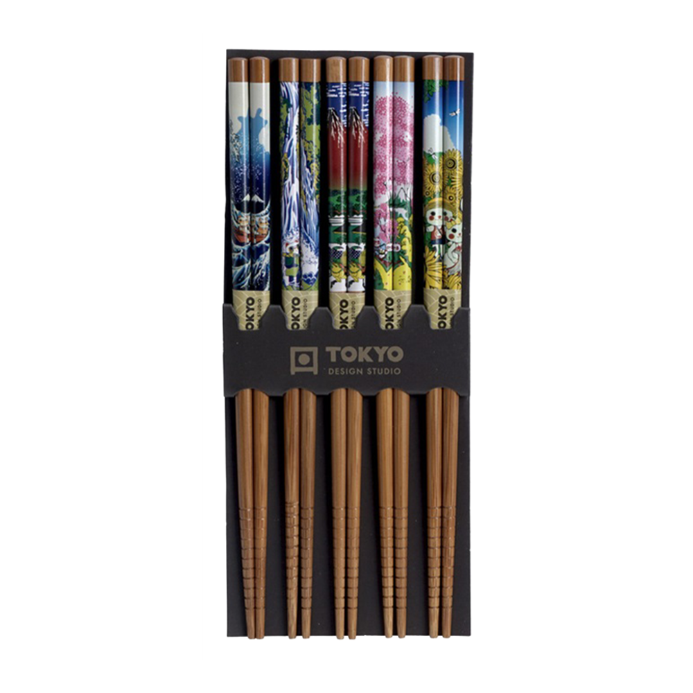 Picture of JP Chopsticks Landscape - 5pair