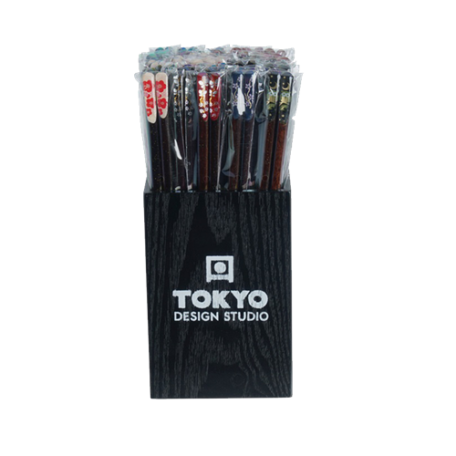 Picture of JP Chopsticks Assorted Tensoge Design - 50pair