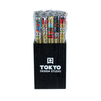 Picture of JP Chopsticks Assorted Design - 50pair