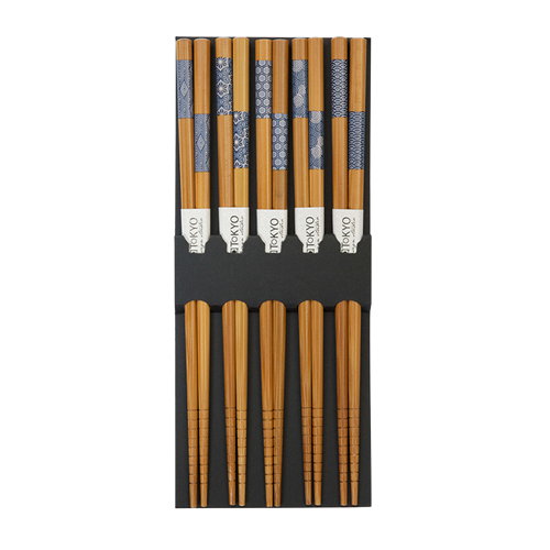Picture of CN Chopstick 5pair Blue
