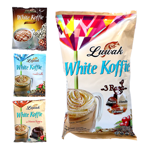 Picture of ID White Coffee 3 in 1 -(Caramel, Mocca, Vanille)