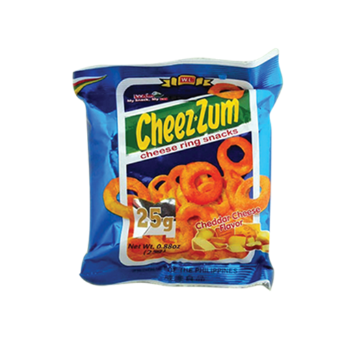 Picture of PH Cheez Zum Cheddar Cheese Ring Snacks M