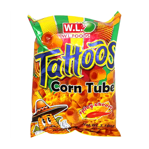 Picture of PH Tattoos Corn Tube Spicy Cheese