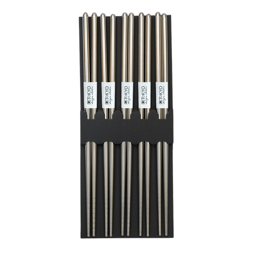 Picture of JP Chopstick Stainless Steel No Design - 5pair