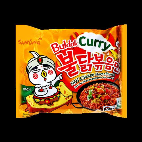 Picture of KR Ramen Hot Curry Chicken Flavor