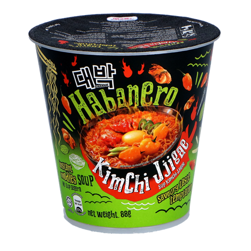 Picture of MY Ghost Pepper Noodle Cup -Habanero Kimchi Jjigae