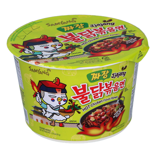 Picture of KR Hot Chicken Ramen Jjajang Big Bowl