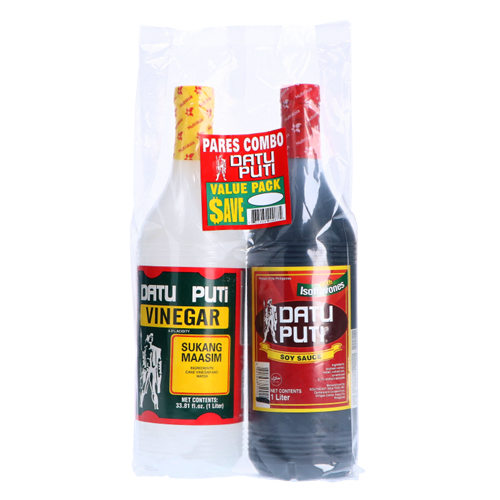Picture of PH Value Pack Soy Sauce + Vinegar 1L