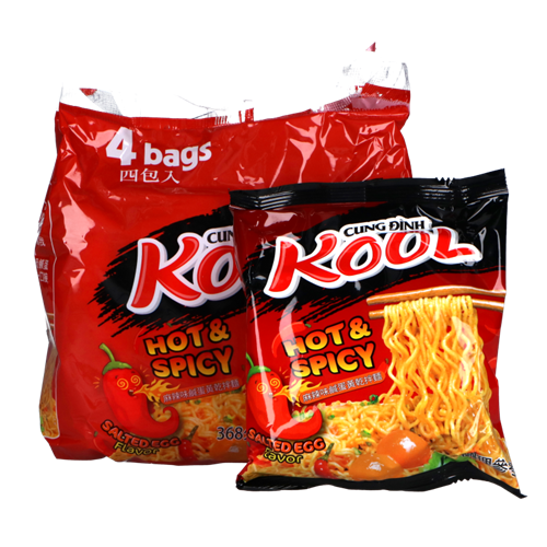 Picture of VN Inst Noodles Spicy Salted Egg - Bag
