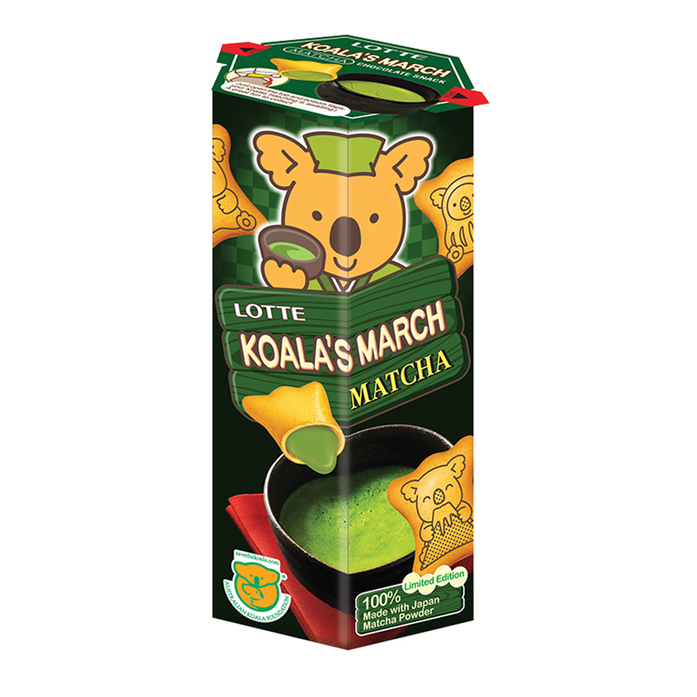 Picture of TH Koala's March Green Matcha Biscuit