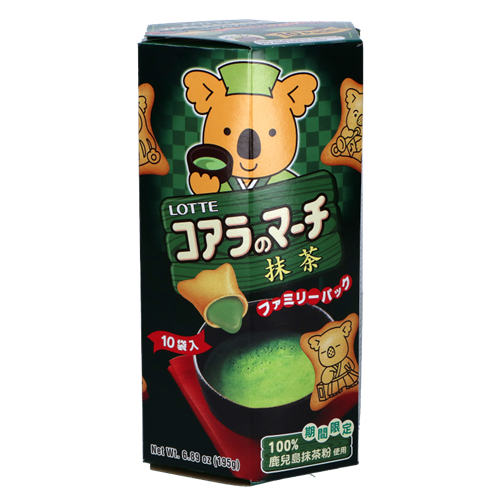Picture of TH Koala's March Green Matcha Biscuit Family Pack